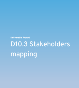 documentation of stakeholders mapping