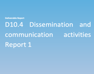 report of dissemination and communication activities